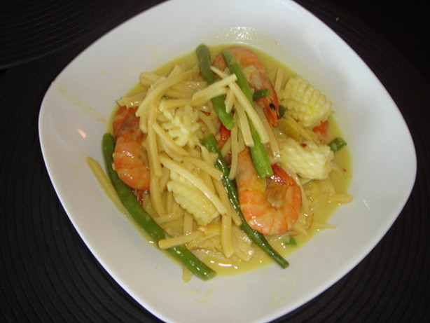 Mixed Seafood Curry With Bamboo Shoots Recipe - Food.com