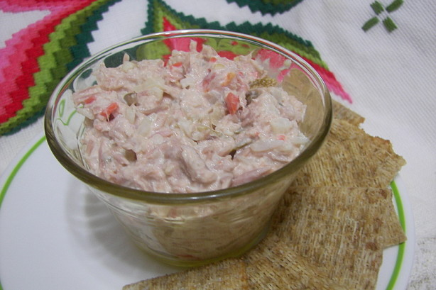 Tuna fish and spicy pickled vegetable pate recipe for Recipes for tuna fish