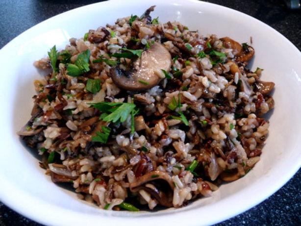 Wild Rice With Cremini Mushrooms Recipe - Food.com