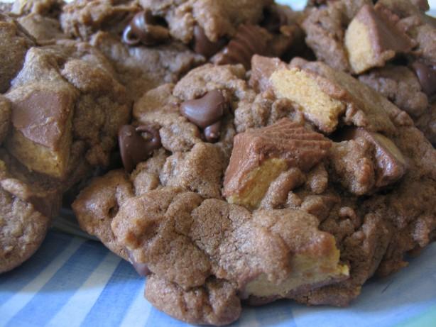 Chocolate Peanut Butter Cup Cookies Recipe - Food.com