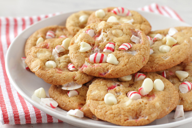 White Chocolate Peppermint Cookies Recipe - Food.com