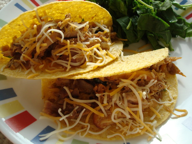 Chile Chicken Slow Cooked Tacos Recipe - Food.com