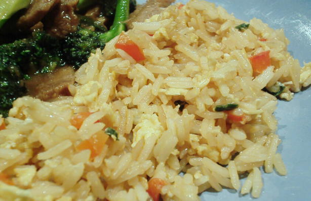 how to prepare simple fried rice