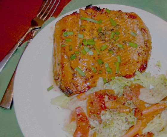 Grilled Salmon With Mustard-Molasses Glaze Recipe - Food.com
