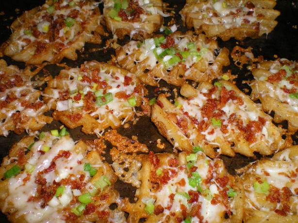 Loaded Potato Fries Recipe Food Com
