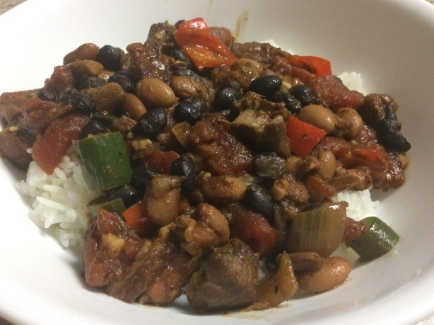 chili spicy vegetarian chili three bean chili red bean chili easy