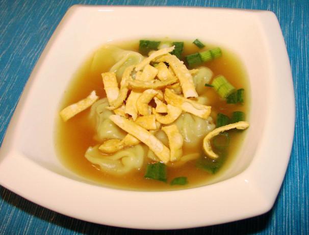 Asian Dumpling Soup RecipeFood.com