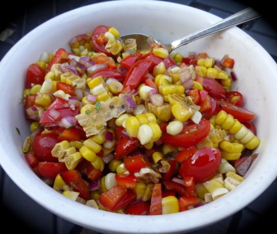 Roasted Corn And Tomato Relish Recipe - Food.com