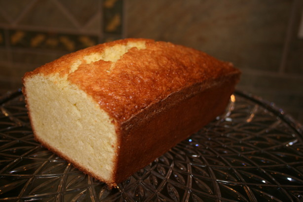 Classic Pound Cake Recipe Food Com