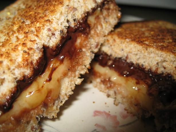 Mashed Banana And Nutella Sandwich Recipe - Food.com