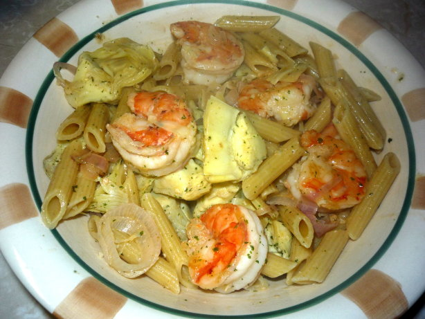 Shrimp Scampi With Artichokes Recipe - Food.com