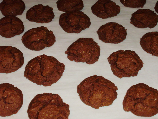 Delicious Low-Fat Ginger Molasses Cookies Healthy!) Recipe - Food.com