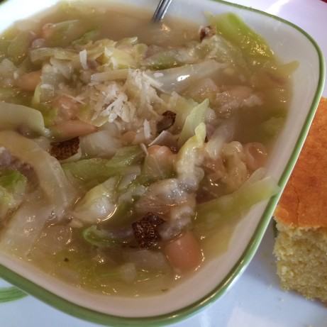 Cabbage And White Bean Soup Recipe - Food.com