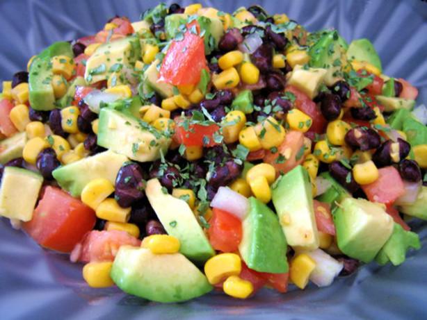 Avocado And Black Bean Salad Recipe - Food.com