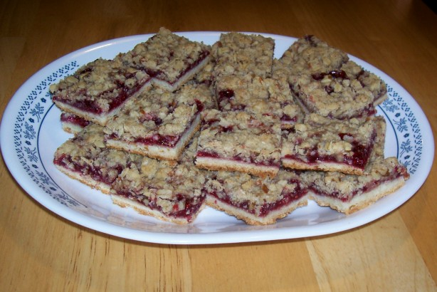 Raspberry Streusel Bars Recipe - Food.com