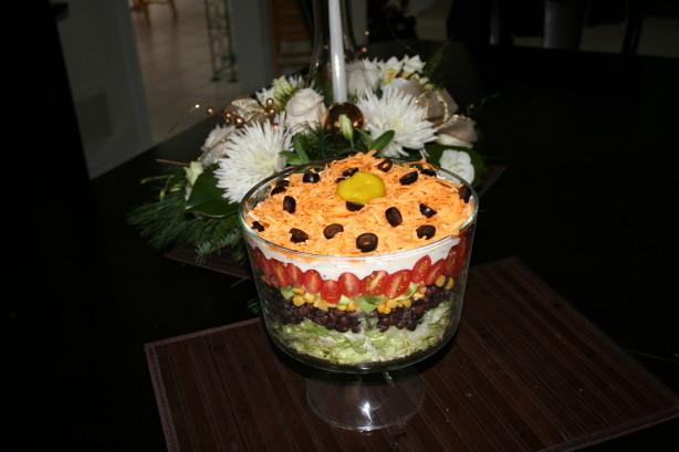 Tex Mex 7 Layer Salad Recipe - Food.com