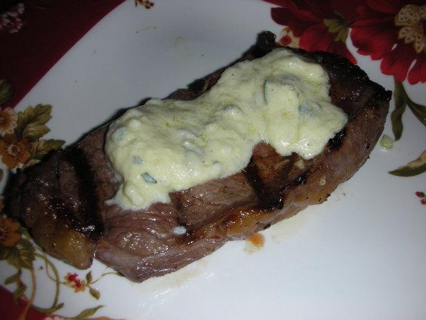 New York Strip Steaks With Tarragon Melting Sauce Recipe ...