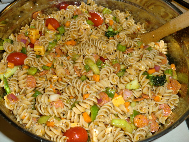Supreme Pasta Salad Recipe