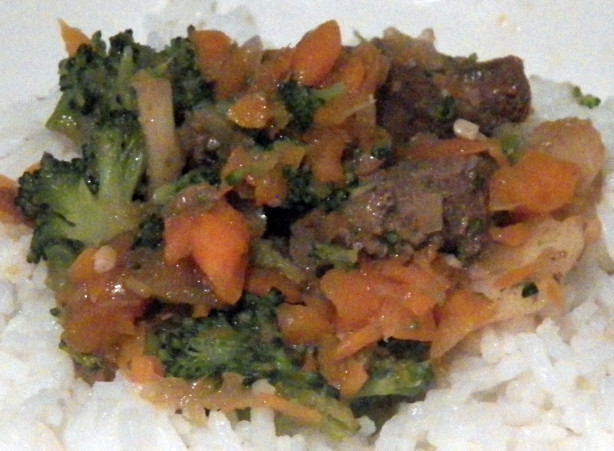 Beef And Broccoli With Garlic Sauce Recipe - Food.com