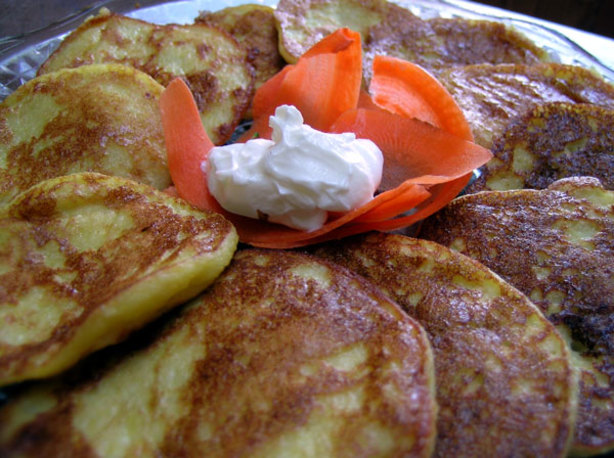 Corn Pancakes With Cheese