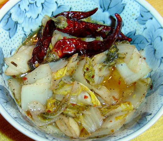 Hot And Sour Chinese Cabbage Recipe - Food.com