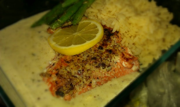 Hazelnut Crusted Salmon Recipe - Food.com
