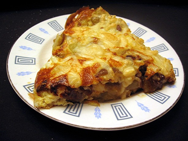 Swiss Cheese Frittata With Potatoes And Caramelized Onions ...