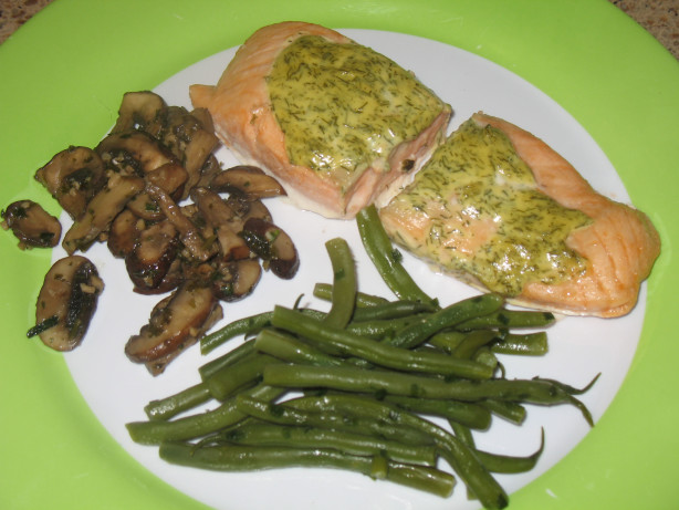 Baked Salmon With Dill Mustard Sauce Recipe - Food.com