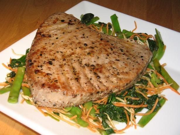 Salt And Sichuan Szechuan) Pepper Tuna With Wasabi Mayonnaise Recipe ...