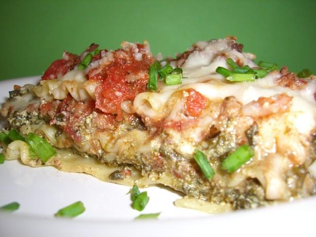 Easy Spinach Lasagne Recipe - Food.com