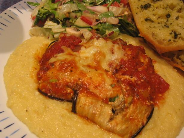 Baked Eggplant And Ricotta Rolls Recipe - Food.com