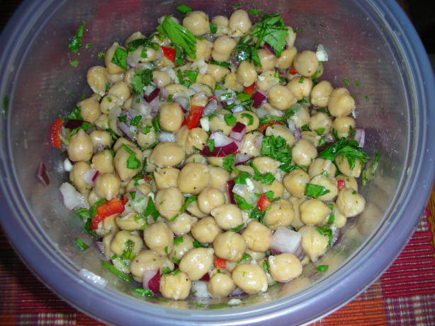 Chickpea Salad With Cumin Vinaigrette Recipes — Dishmaps