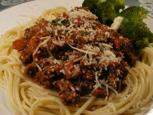 Spaghetti Bolognese The Easy Way) Recipe - Italian.Food.com