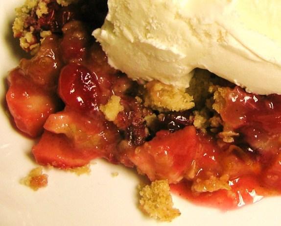 Apple Pear Cranberry Crisp Recipe - Dessert.Food.com