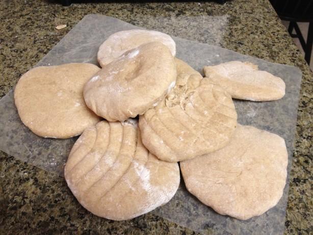 Whole Wheat Pita Bread For Bread Machine Recipe - Food.com