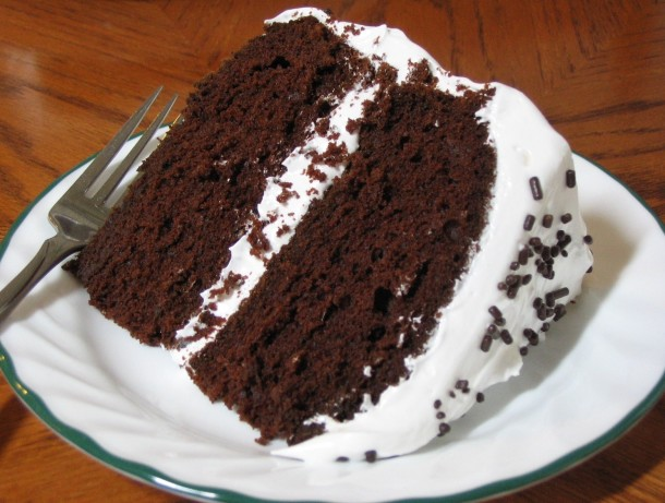 Devil S Food Cake With Chocolate Fudge Frosting Recipe: Devils Food Cake Recipe