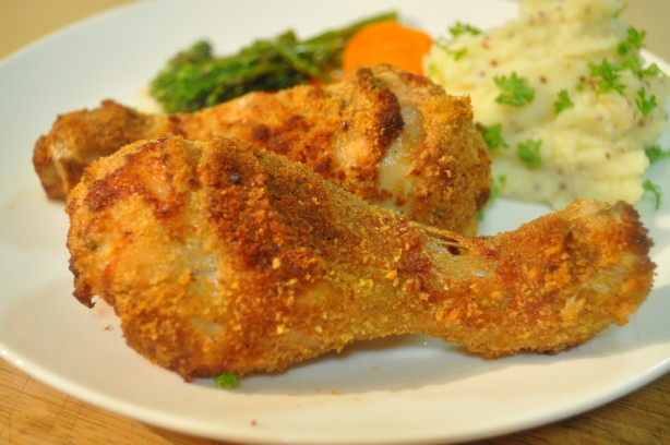 Oven-Fried Chicken Recipe - Food.com