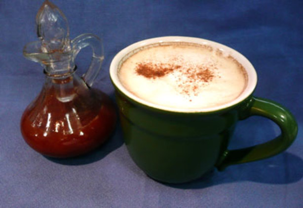 how to make a cinnamon latte