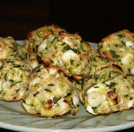Kolokythokeftedes Zucchini Cakes) Recipe - Food.com