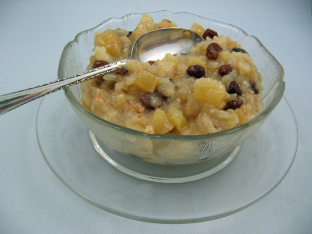 Apple Rice Pudding For A Rice Cooker Recipe - Food.com