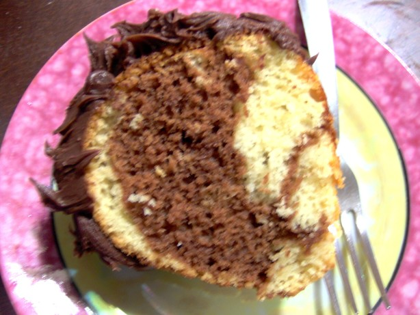 Marble Cake Recipes In Microwave: Chocolate Intrigue Marble Cake Recipe