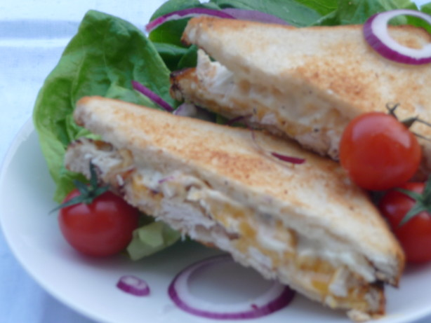 Leftover Rotisserie Chicken Sandwich Recipe Food Com