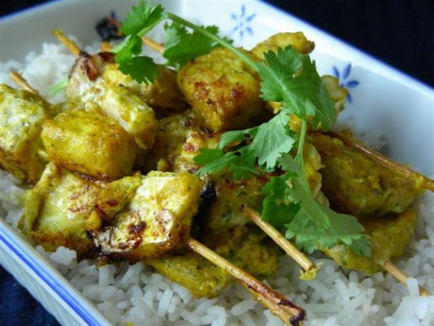 Moroccan fish skewers kebabs recipe for Moroccan fish recipe