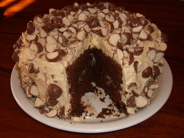 Triple Malted Chocolate Cake With Vanilla Malted Frosting ...