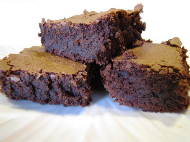 Intensely Deep Dark Chocolate Brownies Recipe - Food.com