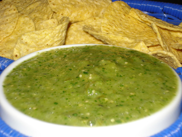 Tomatillo Salsa Verde Recipe — Dishmaps