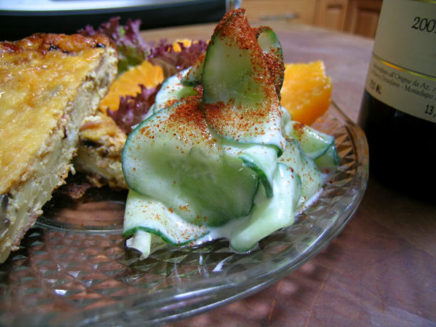 Slovak Cucumbers In Sour Cream Recipe - Food.com