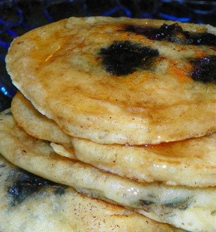 Food Network Blueberry Buttermilk Pancakes