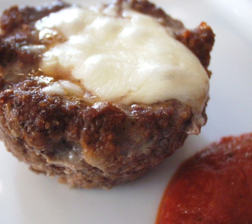 Pizza Meatloaf Cups Recipe Food Com