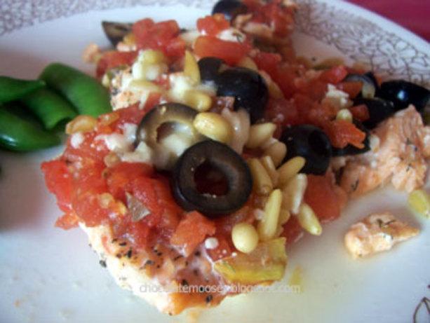 Mediterranean Salmon Fillets Baked In Foil Recipe - Food.com